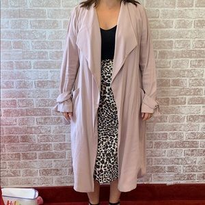 Express Belted Soft Trench
